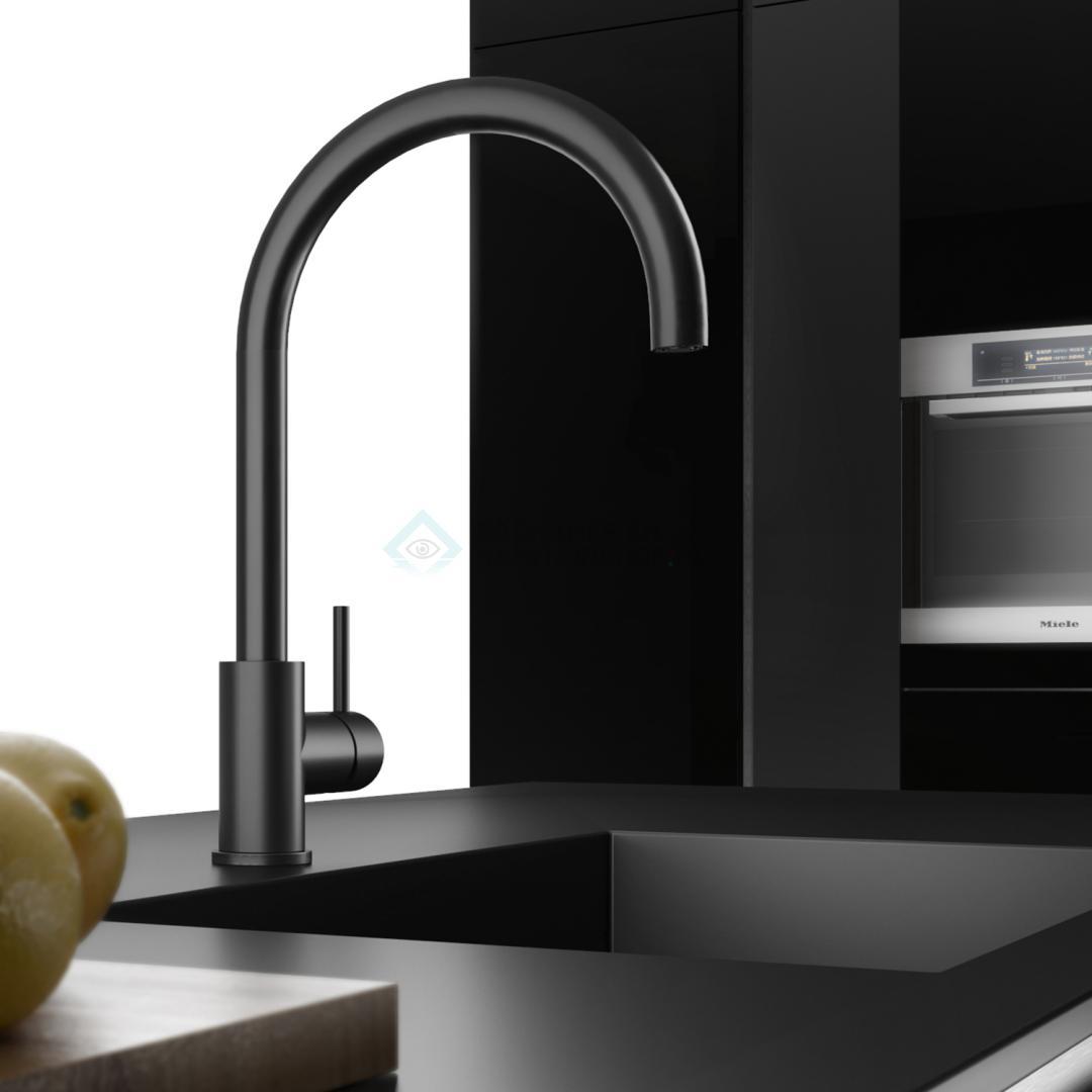 Keukenmengkraan met handdouche