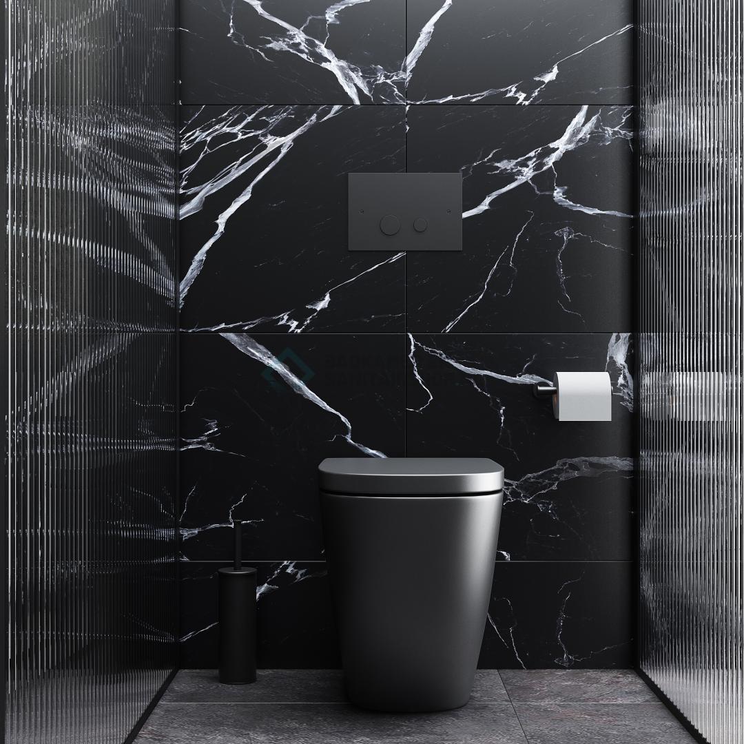 Hangende toiletten