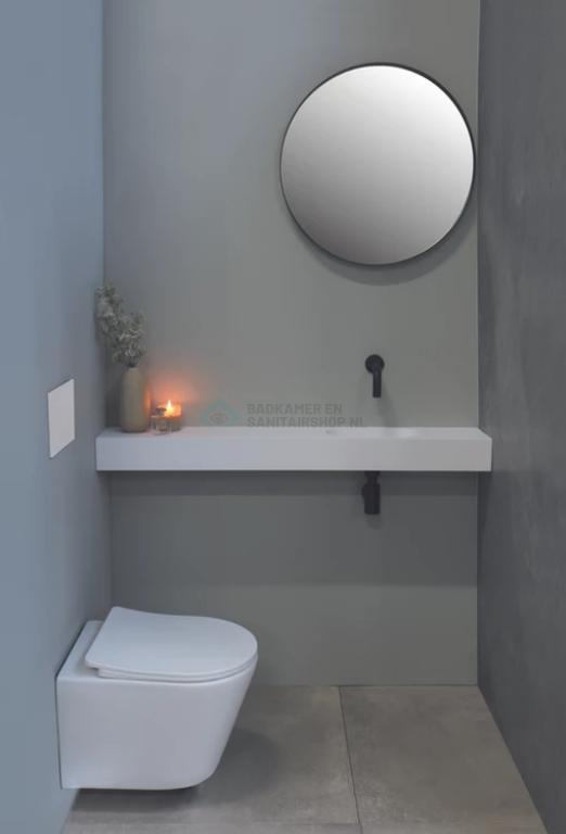 Met spiegel