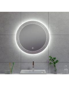 Wiesbaden Deco condensvrije LED spiegel 60cm