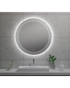 Wiesbaden Deco condensvrije LED spiegel 80cm