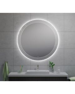 Wiesbaden Deco condensvrije LED spiegel 120cm