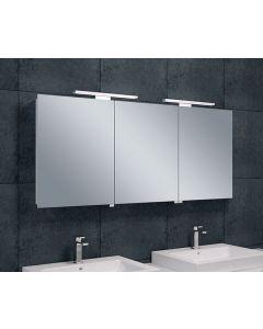 Wiesbaden  Luxe spiegelkast +Led verlichting 140x60x14cm