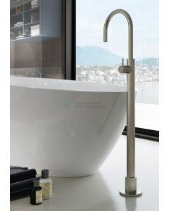 Hotbath wastafelmengkraan vloermontage NI - ( Dit is een Living Colour en vormt een natuurlijk,poetsbaar patina )