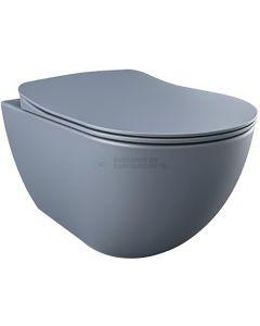 Creavit design ophang wc met rvs sproeier (bidet), basalt mat