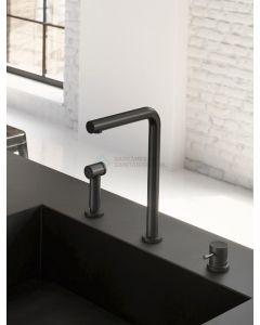 Hotbath keukenmengkraan 3 gats met handdouche WH