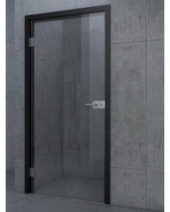 Toegangsdeur tot 90x200 aluminium incl. klink 3379