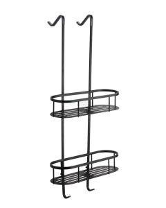 Wiesbaden  Style mat-zwart ophangrek tbv glazen wand 80cm