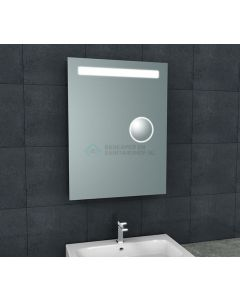 Wiesbaden  Tigris spiegel met led verlichting + scheerspiegel  600x800