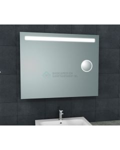 Wiesbaden  Tigris spiegel met led verlichting + scheerspiegel  1000x800