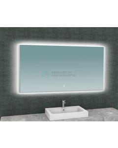 Wiesbaden  Soul spiegel + Led rechthoek 1400x800