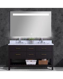 Saniclear Aruba spiegel 100x70cm met LED verlichting en spiegelverwarming