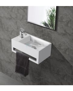 Cedor Bali solid surface fontein 36x20cm links