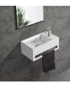 Cedor Bali solid surface fontein 36x20cm rechts
