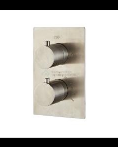 Saniclear volledig 304 RVS complete inbouw thermostaatkraan