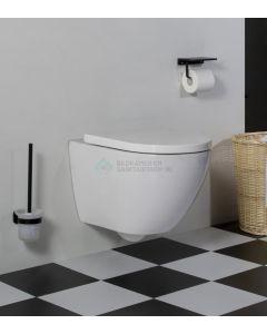 Cedor Jama compact randloos hangend toilet met dikke softclose zitting