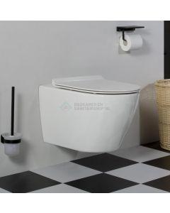 Cedor Jama randloos hangend toilet met platte softclose zitting