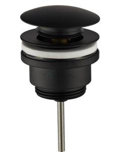 Cedor design afvoerplug/clickwaste mat zwarte waste
