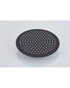 Saniclear hoofddouche 30cm zwart