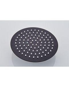 Saniclear hoofddouche extra dun 20cm zwart