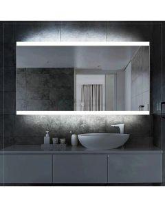 Cedor Riga LED spiegel 80x70cm met spiegelverwarming