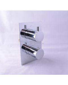 Cedor inbouw thermostaat met inbouwdeel chroom