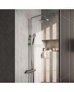 Hotbath thermostatische stortdoucheset 30cm hoofddouche BL