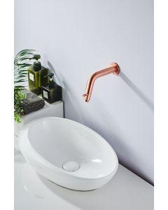Saniclear Copper inbouw toiletkraan geborsteld koper