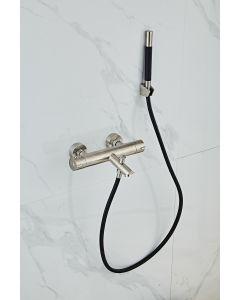 Saniclear Exclusive Pro 304-RVS thermostatische badkraan met handdouche