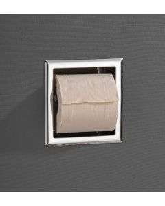 Saniclear inbouw toiletrol houder zonder klep chroom