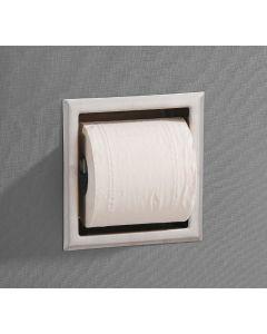 Saniclear inbouw toiletrol houder zonder klep rvs