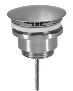 Basic - Altijd open plug inox 3307