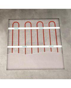 Set vloerverwarming incl. thermostaat 500x50 400W 3396